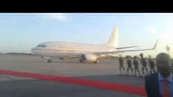 President Of Equatorial Guinea Arrives In Harare, Ahead of Mugabe
