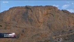 Na planini Al Nur u pećini Hera