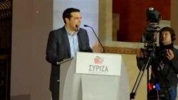 2015-01-26 美國之音視頻新聞: 希臘左翼聯盟黨贏得選舉