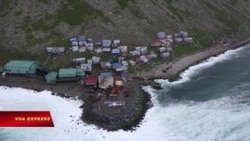 Diomede, hòn đảo cô lập ở Alaska