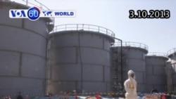 430 lít nước nhiễm phóng xạ tràn ra khỏi bể ở Nhật (VOA60)