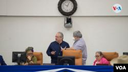 """La Asamblea de Nicaragua está controlada por el presidente Daniel Ortega y sus aliados, considerados """"partidos zancudos"""". Foto Houston Castillo, VOA."""