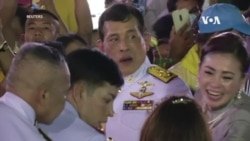 """泰國國王對抗議者表示""""愛意"""""""