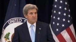 خلاصه سخنان جان کری: دو کشور مستقل، تنها راهحل مسئله اسرائیل و فلسطینیهاست