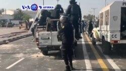 VOA60 AFIRKA: A Senegal Fada Ya Barke A Dakar Bayanda Aka Kama Jagoran 'Yan Adawa Ousmane Sonko