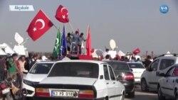 ÖSO Tel Abyad'da Kontrol Sağladı Akçakale'de Kutlamalar Yapıldı