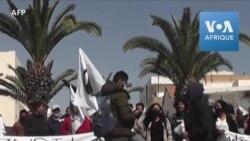 Les Tunisiens manifestent contre l'importation des déchets ménagers