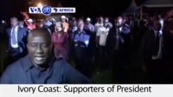 VOA60 Africa - Ivory Coast: President Alassane Ouattara re-elected