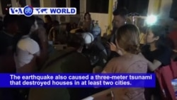 VOA60 World PM - Tsunami Hits Small City on Indonesia's Sulawesi After Quake