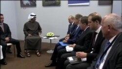 پوتین با وزیر دفاع عربستان سعودی دیدار کرد
