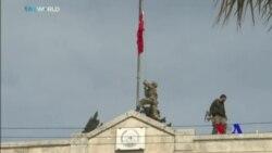 Tirkiye Dest bi Ser Efrîn de Digre û Alayê Xwe li Navenda Bajêr Bilind Dike