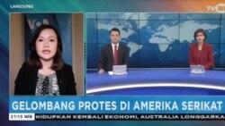 Laporan Langsung VOA untuk TVRI: Gelombang Protes di Amerika Serikat