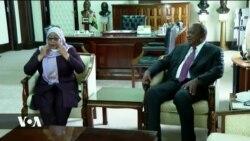 Rais Samia Suluhu Hassan wa Tanzania afanya ziara Kenya