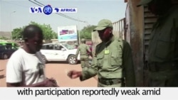 VOA60 Africa - Mali Holds Elections