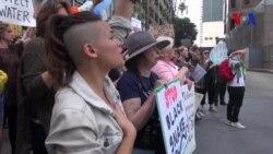 Protestas contra el oleoducto que atravesaría EE.UU.