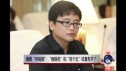"""时事大家谈:围剿""""体制婊"""",""""砸锅党""""和""""自干五""""较量有声?"""