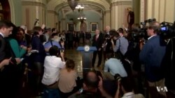 Senate Republicans Regroup After Health Care Defeat