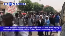 VOA60 Africa - Talks in Sudan Stop After 6 People Were Killed in Protests
