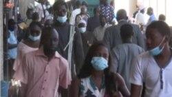 Le port du masque obligatoire sur la voie publique à Dakar