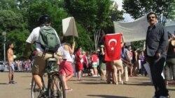 Washington'da Taksim Gezi Parkı Eylemcilerine Destek
