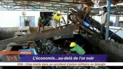 L'économie au delà de l'or noir en Angola (video)