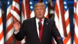 川普在共和黨大會上談內政外交