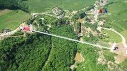 Չինաստանի հարավում բացվել է աշխարհի ամենաերկար ապակյա կամուրջը