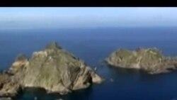韩日岛屿争执升温 美国担忧