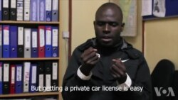肯尼亚听障司机靠优步获得公平机会