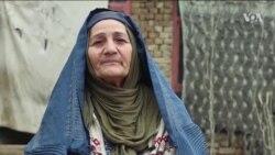 روایت زندگی زن دستفروش در شهر مزارشریف
