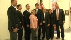 Legisladores estadounidenses reciben a oposición venezolana