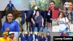 La pandemia de COVID-19 no ha detenido el trabajo humanitario de las activistas salvadoreñas. [Foto: Lenny Castro/VOA]