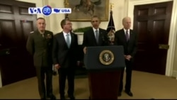 VOA60 America- President Barack Obama says 5,500 American troops will stay in Afghanistan until early 2017