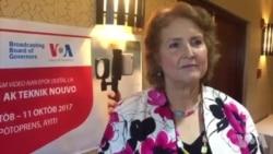 Ayiti-Etazini: Chargée D'Affaires, Robin Diallo, felisite Ayisyen yo pou Estabilite peyi a