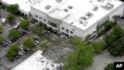 Последствия взрыва в торговом центре в Плантейшен, штат Флорида, 7 июля 2019 года