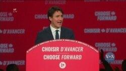 Ліберальна партія перемогла на парламентських виборах в Канаді. Відео