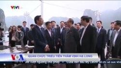 Quan chức Triều Tiên thăm Vịnh Hạ Long