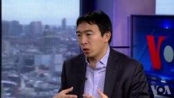 华裔总统参选人杨安泽接受VOA专访
