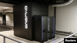 A D-Wave 2X quantum computer is pictured at the Quantum Artificial Intelligence Laboratory at NASA Ames Research Center in Mountain View, Calif., Dec. 8, 2015.
