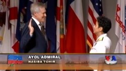 AQSh dengiz flotida birinchi ayol admiral - Admiral Michelle Howard