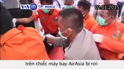 Indonesia vớt ít nhất 30 thi thể nạn nhân máy bay AirAsia (VOA60)