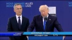 Студія Вашингтон: Трамп: країни-члени НАТО мають витрачати не менше 2% ВВП на оборону