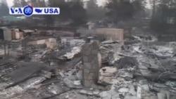 Manchete Americanas 12 Novembro: 31 pessoas morreram em dois incêndios descontrolados na Califórnia