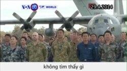 Úc thông báo tiếp tục tìm kiếm máy bay Malaysia mất tích (VOA60)