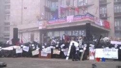 2014-04-15 美國之音視頻新聞: 烏克蘭開始鎮壓佔領政府建築示威者
