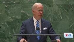 UNGA 76: USA Biden ye Laseliw Kai Dunia Keleya Tonba Kenekan