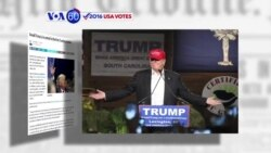 VOA60 Elections - Donald Trump has surged to a larger lead in the first three battleground states