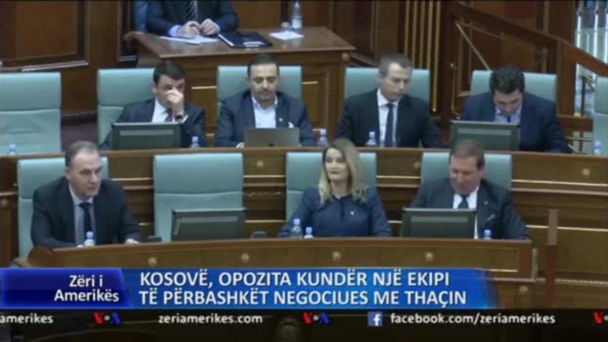 Billedresultat for Kosovë: Opozita kundër një ekipi të përbashkët negociues me Thaçin