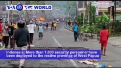VOA60 World - Indonesia: More than 1,000 security personnel have been deployed to the restive province of West Papua