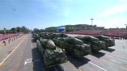 China Announces Troop Cuts at WWII Parade